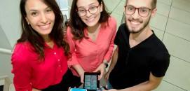 Isabella Gouthier, Deborah Gouthier e Lucas Garcia