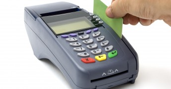 Modern wireless POS-terminal with battery and GPRS module