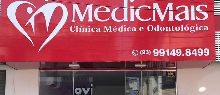 Fachada das Clínicas Médicas Populares, franquia que oferece serviços médicos de qualidade a preço acessível