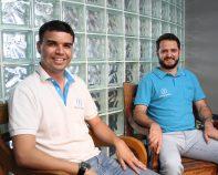 Filipe Guedes e Denis Miranda, sócios do aplicativo Boca a Boca