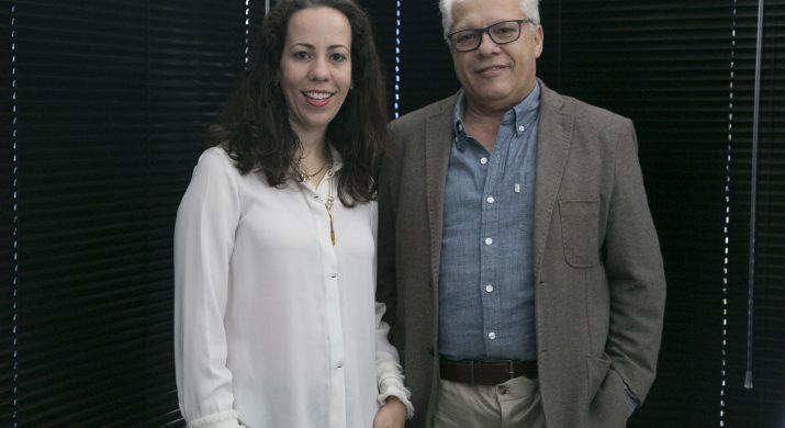 Wanessa Moreira e Roberto Gusmão da Motivarte