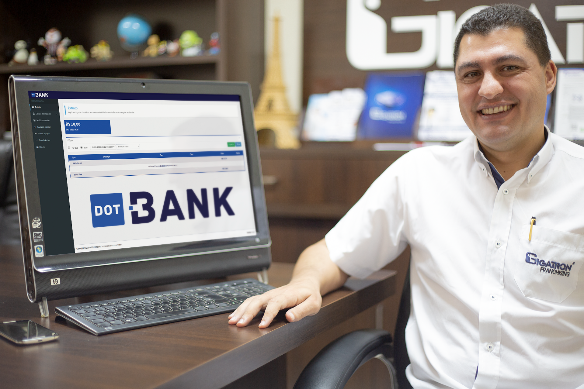Dot Bank: 1° banco digital do Brasil operando com modelo de ...