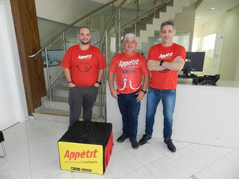 sócios Appetit empreendedores Lucas Pinheiro
